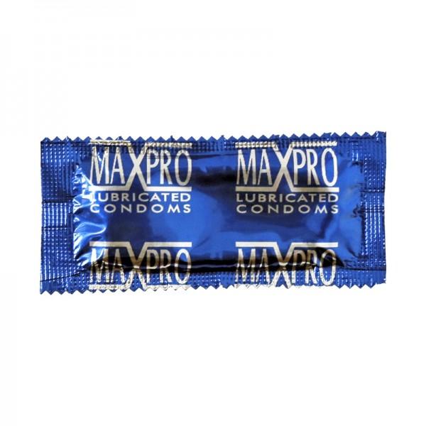 100 préservatifs texturés à picots MaxPro®