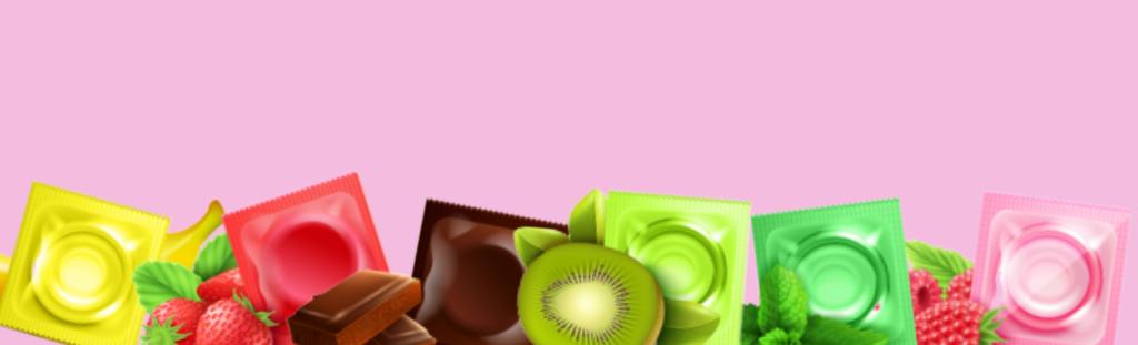 les-préservatif-parfumé-banane-fraise-menthe-chocolat-kiwi-framboise