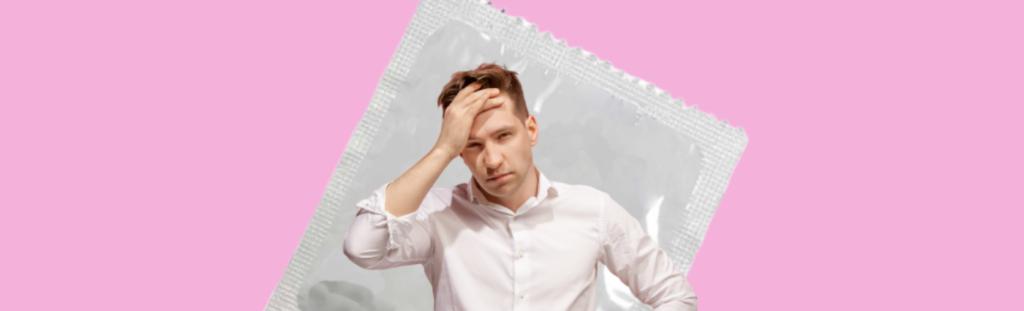 problème-de-preservatifs-homme-desemparé-condom
